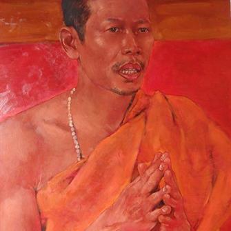The Praying Monk